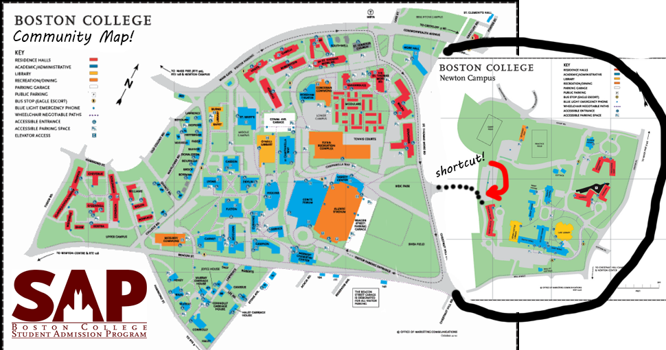 boston college chestnut hill map Sap Releases Fake Community Map Claims Newton Campus Is Part Of boston college chestnut hill map
